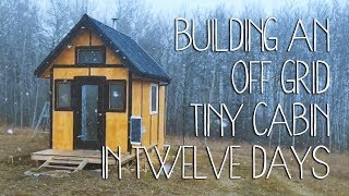 Download Building an Off Grid Tiny Cabin in Twelve Days Video