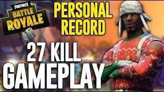 Download 27 Kill Solo Squad Gameplay!! Fortnite Battle Royale Gameplay - Ninja Video