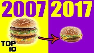 Download Top 10 Insane Food Changes That EVERYBODY Missed Video