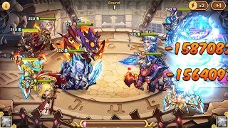 IDLE HEROES VN] Faith Blade & Amuvor - AMAZING Dmg and CC Free