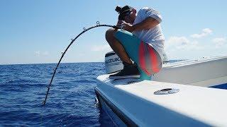 Download MAN Vs. Deep Sea GIANTS... Amberjack Fishing -( Key West, Florida) Video