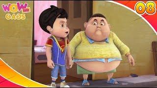 Download Cartoons For Kids | Best Comedy Scenes Of Vir: The Robot Boy | Part - 8 | Wow Kidz Gags Video