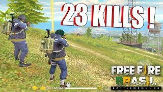 Download 23 KILLS CRUSHER FOOXI E CHIN - FREE FIRE BATTLEGROUNDS Video