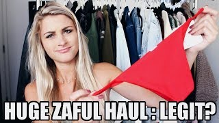 Download HUGE Zaful Haul + Try On: Is it LEGIT? Video