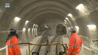 Download Crossrail railway systems: Elizabeth line permanent track installation complete Video