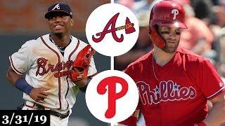 Download Atlanta Braves vs Philadelphia Phillies Highlights | March 31, 2019 Video