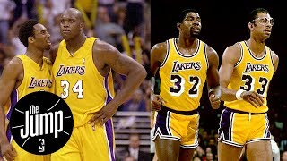 Download Shaq-Kobe or Kareem-Magic: Who was better Lakers duo? | The Jump | ESPN Video