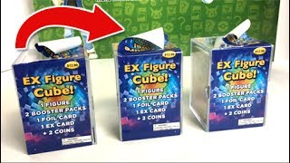 Download WHAT HAPPENED TO THESE CUBES?! - OPENING 3 MYSTERY EX FIGURE CUBES from TARGET with POKEMON CARDS! Video