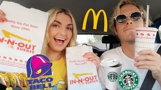 Download Letting The Person In Front Of Me DECIDE What I EAT for 24 HRS!!! | Rydel Lynch Video