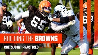 Download Building The Browns 2019: Colts Joint Practices (Ep. 10) Video
