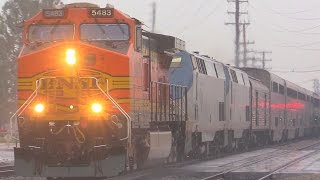Download BNSF Rescues Amtrak Southwest Chief & MORE !!! January 10th, 2015 Video