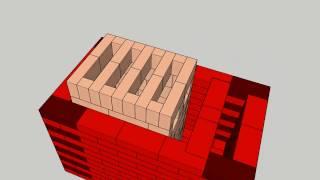 Download Masonry stove model - soba clopot Video