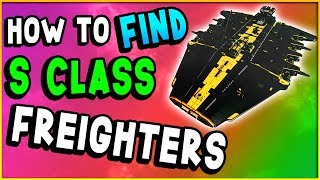 Download HOW TO FIND S CLASS FREIGHTER! | No Man's Sky Next Guide (Tips & Tricks) Video