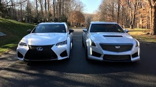 Download 2017 Cadillac CTS-V vs. 2016 Lexus GS F – Redline: Comparison Video