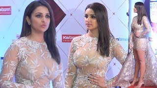 Download Parineeti Chopra Hot In See Through Dress At HT India's Most Stylish Awards 2018 Video