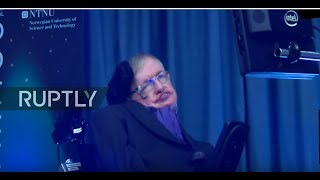 Download Norway: Stephen Hawking speaks on 'the future of humanity' at Starmus Festival Video