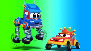 Download Truck videos for kids - SPRING TRUCK saves the CURSED City! - Super Truck in Car City! Video