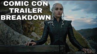 Download New Season 7 Comic Con Trailer Breakdown! - Game of Thrones Season 7 Trailer Video