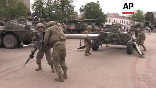 Download US forces in Latvia on military exercise Video