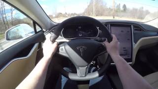 Download What It's Like To Drive A Tesla Model S P100D! Video