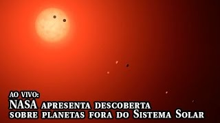 Download AO VIVO: Nasa apresenta descoberta de sistema com sete planetas terrestres Video