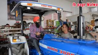Download Ford 3000 old 44 years Video