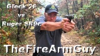 Download Glock 26 vs Ruger SR9c - TheFireArmGuy Video