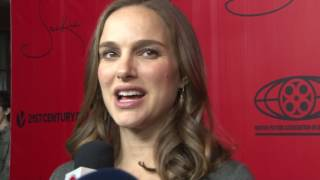 Download Natalie Portman dishes on ″Jackie″ at the D.C. premiere Video