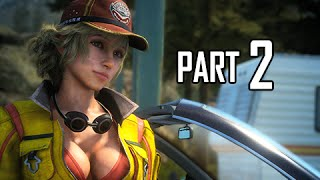 Download Final Fantasy 15 Walkthrough Demo Part 2 - FEMALE CID!!!! (FFXV PS4 Gameplay Commentary) Video