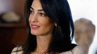 Download Amal Alamuddin Clooney's legal career in 60 seconds Video