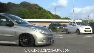 Download Peugeot 207 com rodas aro 17 e Suspensão a Ar em João Pessoa. Video