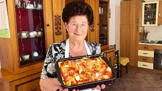 Download Pasta Grannies share Nonna Igea's timballo from Abruzzo Video