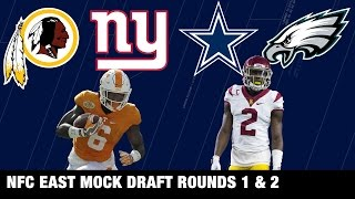 Download Draft Projections: Cowboys, Eagles, Redskins, and Giants | NFL Network | Path to the Draft Video