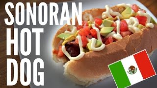 Download SONORA HOT DOG bacon-wrapped tomato avocado & mayo | WEENIES Video