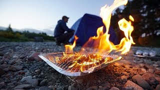 Download Camping and Fishing Riverside in New Zealand!! Video