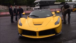 Download Ferrari LaFerrari cold start at Ferrari Racing days on Spa Francorchamps Video