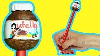 Download Nutella Kalem Süsleme Nasıl Yapılır | Kalem Süsü Yapımı | Boya Boya Video