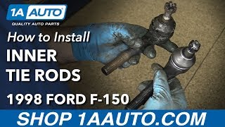 Download How to Install Replace Front Inner Tie Rods 1997-03 Ford F-150 Video