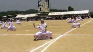Download 池田学園(鹿児島) 第19回体育祭 白軍応援団! 20090614 Video