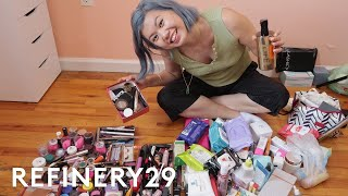 Download How I Decluttered 4 Years Worth Of Beauty Products | Beauty With Mi | Refinery29 Video