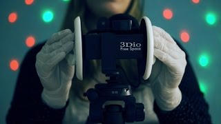 Download Binaural ASMR. Ear Cupping, Touching & Tapping with Rubber Gloves (3Dio Free Space) Video