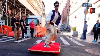 Download ALADDIN MAGIC CARPET PRANK Video