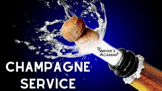 Download How to open a Bottle of Champagne as a waiter! Fine dining service! Waiter training! Wine service! Video