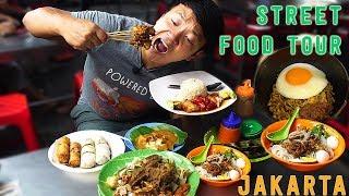 Download 10X SPICY Instant Noodle INDOMIE Goreng: Jakarta Indonesia Street Food Tour Video