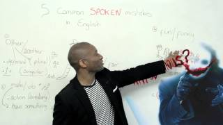 Download 5 common mistakes in spoken English Video