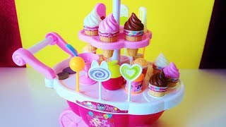 Download My Little Pony Ice Cream Cart and toy surprises unboxing video for children Video