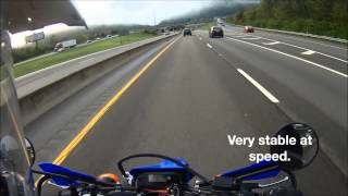 Download Yamaha WR250R Morning Interstate Highway Commute Video