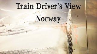 Download Train Driver's View: Winter Wonderland on the Bergen Line Video