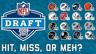 Download Every AFC Team's Last 10 1st Round Picks & How they Fared in the NFL | NFL Highlights Video