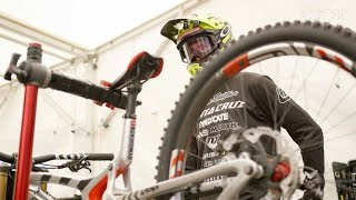 Download Testing 29″ VS 27.5″ Downhill MTB Wheels | UCI MTB World Cup: Lourdes Practice Day Video